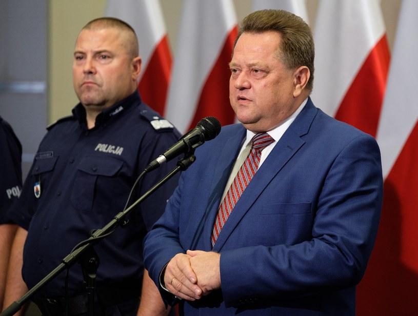 Wiceminister MSWiA Jarosław Zieliński /Mateusz Grochocki /East News