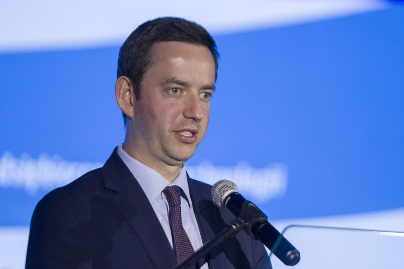 Wiceminister obrony narodowej Marcin Ociepa /Adrian Ciężki /Reporter