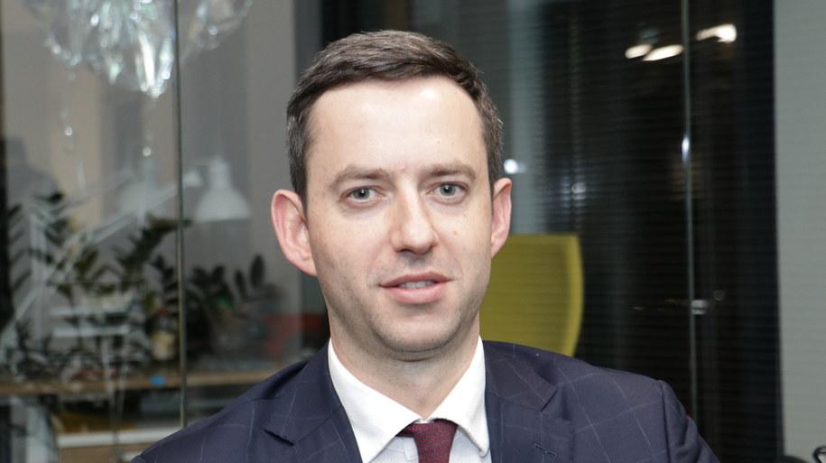 Wiceminister obrony narodowej Marcin Ociepa /Jakub Rutka /RMF FM