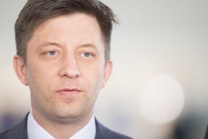Wiceminister obrony narodowej Michał Dworczyk /Maciej Luczniewski /Reporter