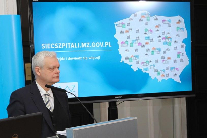 Wiceminister Piotr Gryza /Robert Ostrowski /East News