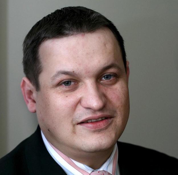 Wiceminister pracy Jacek Męcina /Paweł Tuchliński /Reporter
