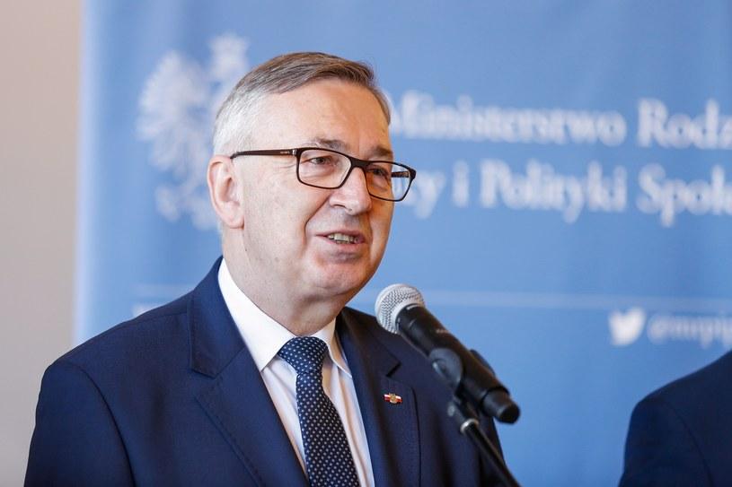 Wiceminister rodziny, pracy i polityki społecznej Stanisław Szwed /Tomasz Kawka /East News
