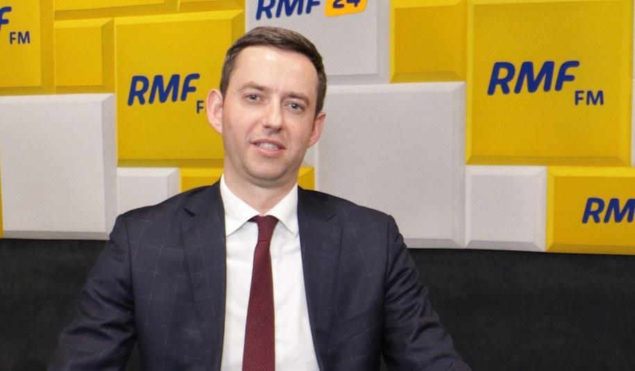 Wiceminister rozwoju Marcin Ociepa /Jakub Rutka /RMF FM