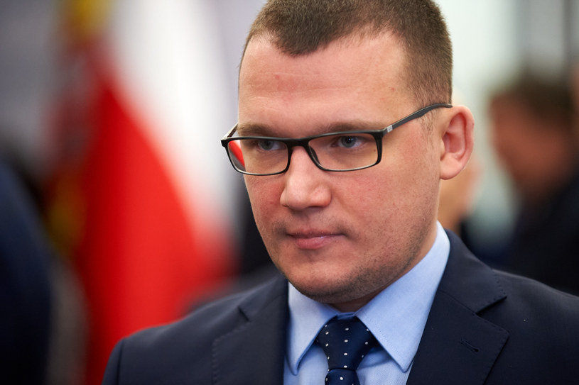 Wiceminister spraw wewnętrznych i administracji Paweł Szefernaker /Fot. Lukasz Szelag/REPORTER /Reporter