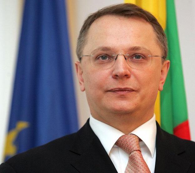 Wiceminister spraw zagranicznych Litwy Egidijus Meilunas. Fot. Karol Piechocki /Reporter