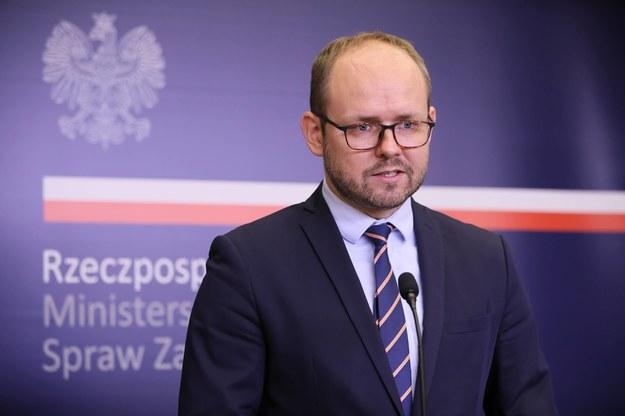 Wiceminister spraw zagranicznych Marcin Przydacz, sierpień 2020 / Leszek Szymański    /PAP