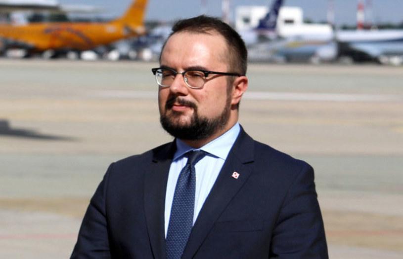 Wiceminister spraw zagranicznych Paweł Jabłoński / Jakub Kamiński    /East News
