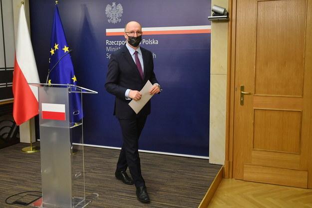 Wiceminister spraw zagranicznych Piotr Wawrzyk / Radek Pietruszka   /PAP
