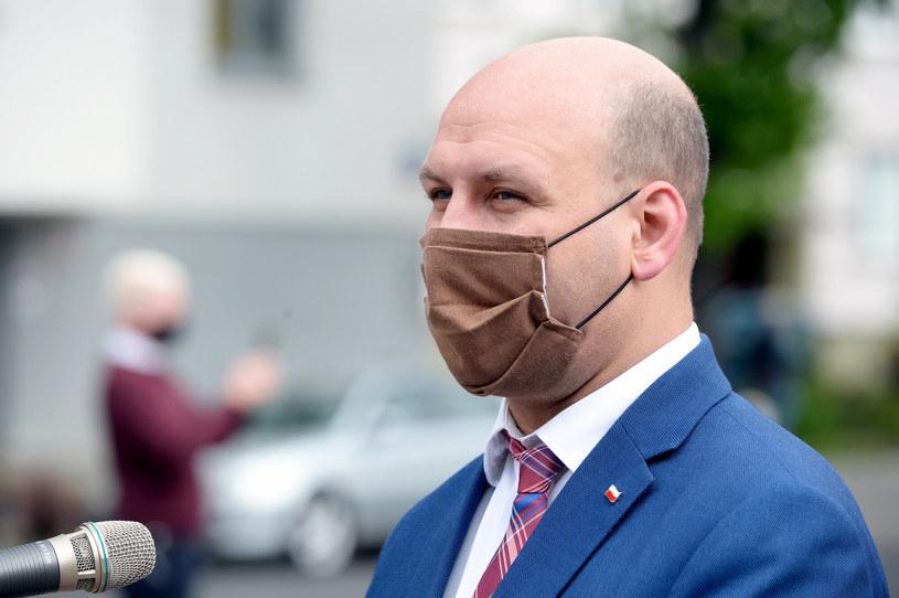 Wiceminister spraw zagranicznych Szymon Szynkowski vel Sęk /Jan Bielecki/East News /East News