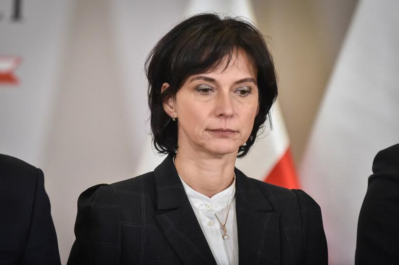 Wiceminister sprawiedliwości Anna Dalkowska rezygnuje /Artur Zawadzki /Reporter