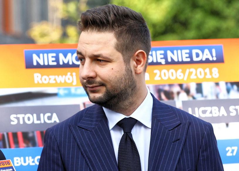 Wiceminister sprawiedliwości, kandydat PiS na prezydenta Warszawy Patryk Jaki /Tomasz Gzell   /PAP