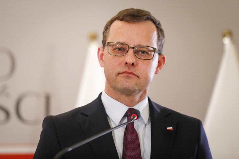 Wiceminister sprawiedliwości Marcin Romanowski /Aleksandra Szmigiel/REPORTER /Reporter