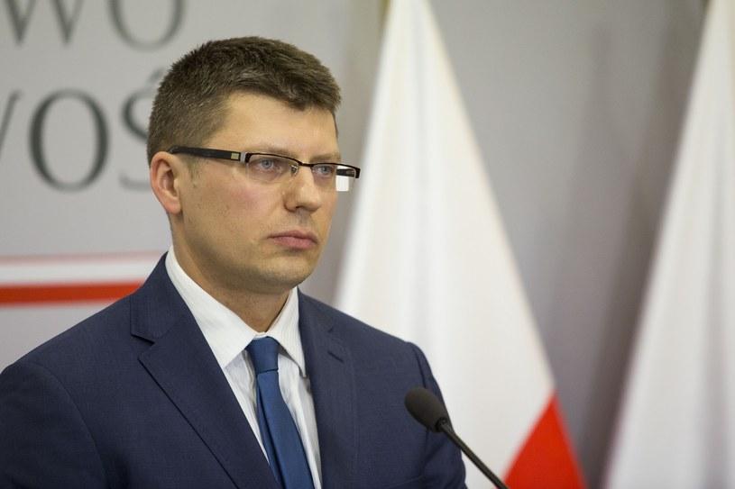 Wiceminister sprawiedliwości Marcin Warchoł /Hulimka /Reporter