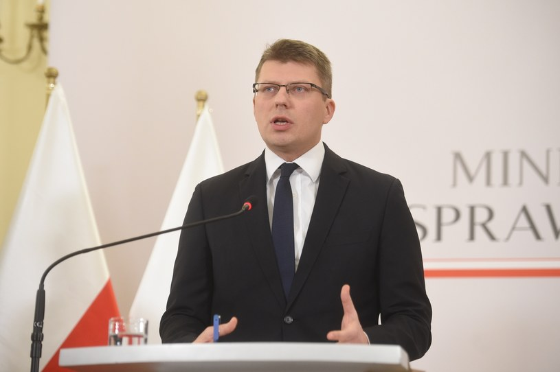 Wiceminister sprawiedliwości Marcin Warchoł /Zbyszek Kaczmarek /Reporter