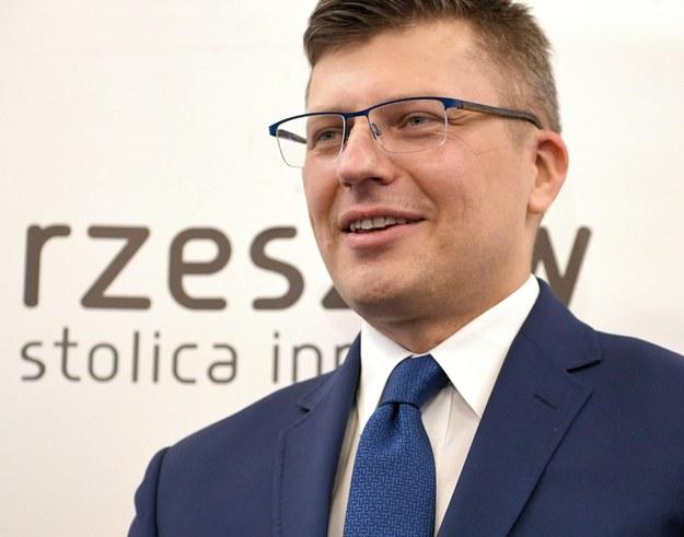 Wiceminister sprawiedliwości Marcin Warchoł /Darek Delmanowicz /PAP