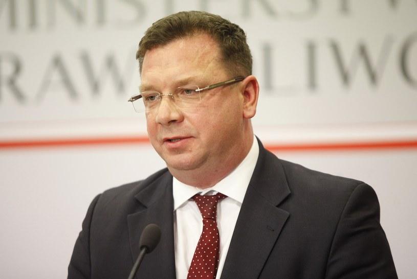 Wiceminister sprawiedliwości Michał Wójcik /STEFAN MASZEWSKI/REPORTER /&nbsp