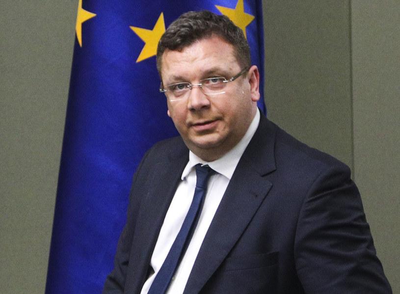 Wiceminister sprawiedliwości Michał Wójcik /Andrzej Hulimka  /Reporter