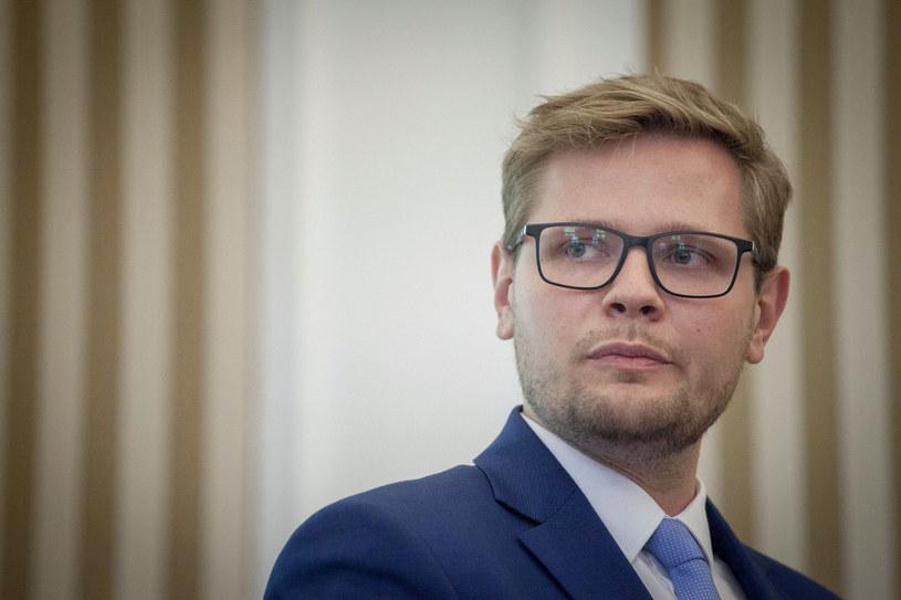 Wiceminister sprawiedliwości Michał Woś /Maciej Luczniewski/REPORTER /East News