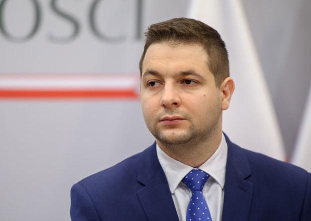 Wiceminister sprawiedliwości Patryk Jaki /Rafał Oleksiewcz /Reporter