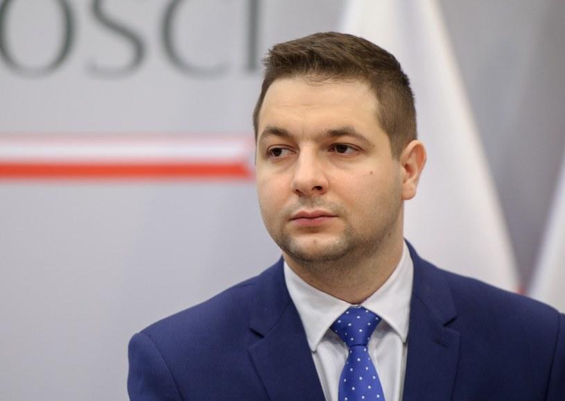 Wiceminister sprawiedliwości Patryk Jaki /Rafał Oleksiewicz /Reporter