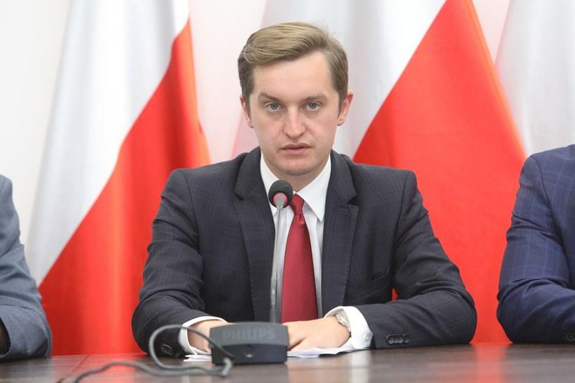 Wiceminister sprawiedliwości Sebastian Kaleta /Fot Tomasz Jastrzebowski /Reporter