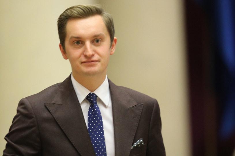 Wiceminister sprawiedliwości Sebastian Kaleta /Tomasz Jastrzębowski /Reporter