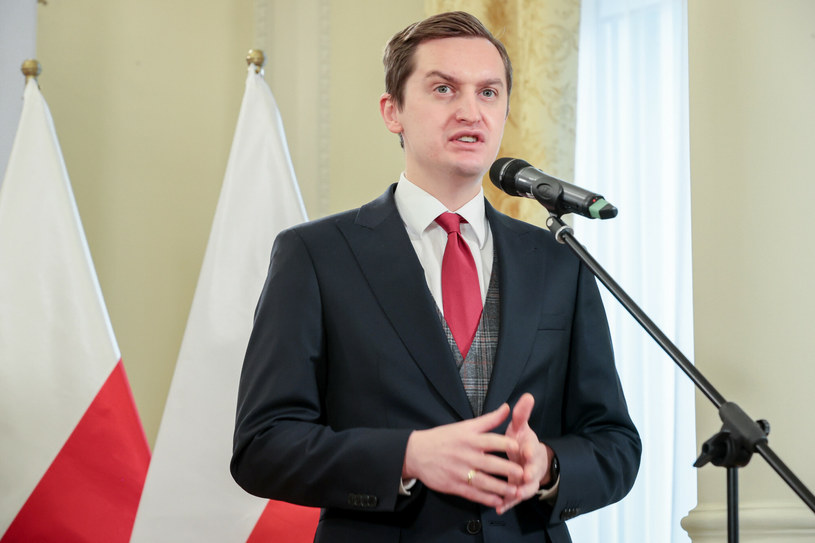 Wiceminister sprawiedliwości Sebastian Kaleta /Rafał Gaglewski /Reporter