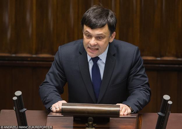 Wiceminister środowiska i główny geolog kraju Mariusz Orion Jędrysek. Fot. Andrzej Iwańczuk /Reporter