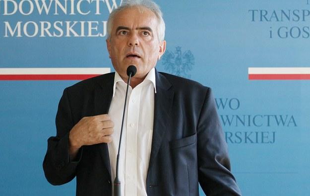 Wiceminister transportu Tadeusz Jarmuziewicz /Paweł Supernak /PAP
