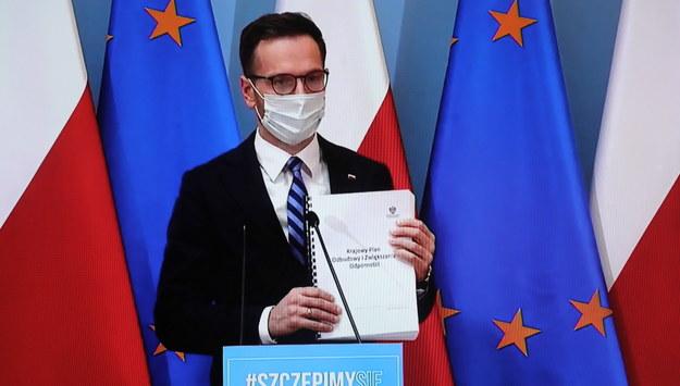 Wiceminister Waldemar Buda /Wojciech Olkuśnik /PAP