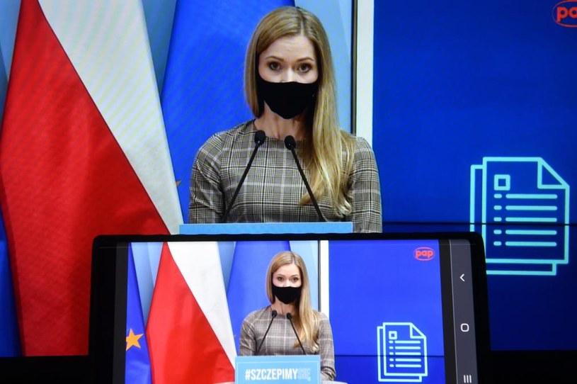 Wiceminister zdrowia Anna Goławska /Radek  Pietruszka /PAP