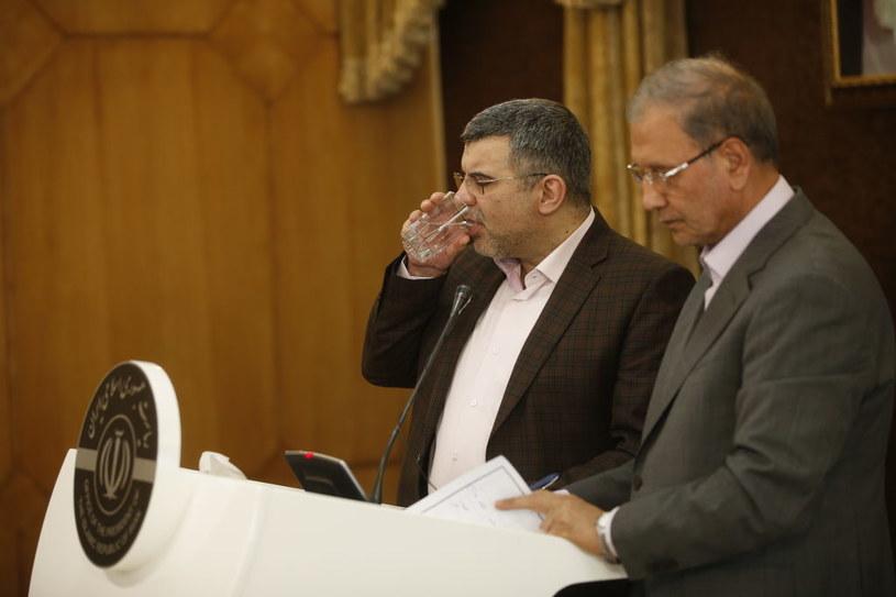 Wiceminister zdrowia Iranu, Iraj Harirchi /Stringer/Anadolu Agency /Getty Images