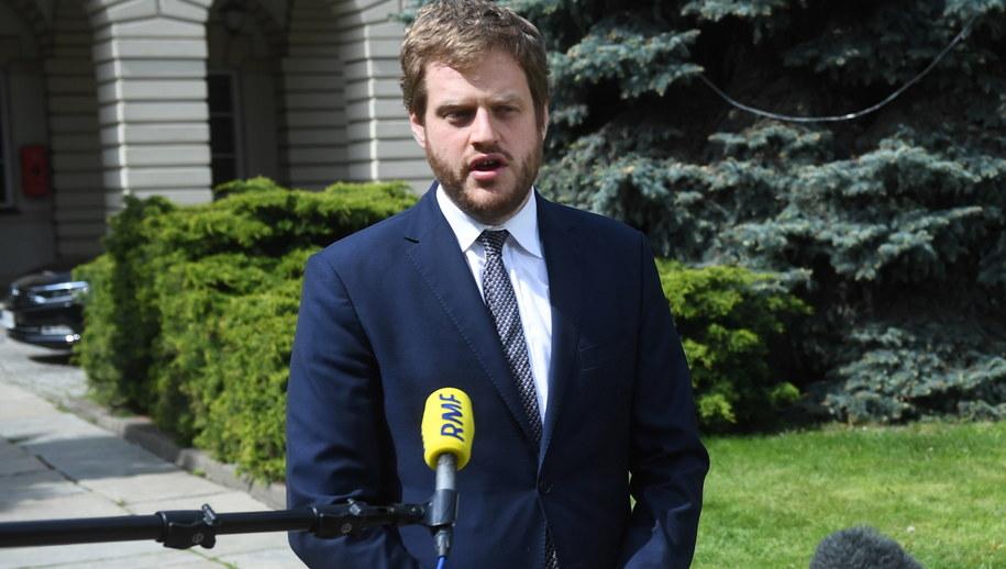 Wiceminister Zdrowia Janusz Cieszyński / Radek Pietruszka   /PAP