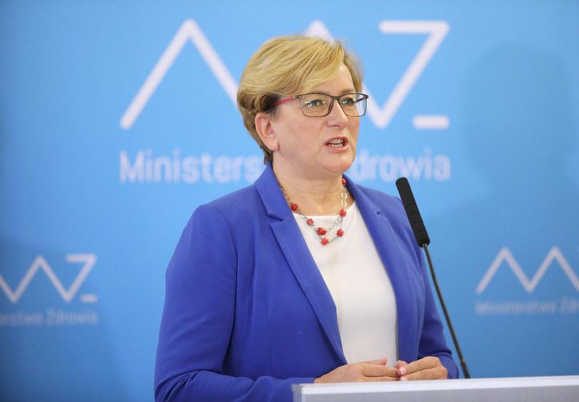 Wiceminister zdrowia Józefa Szczurek-Żelazko /Piotr Molecki /East News