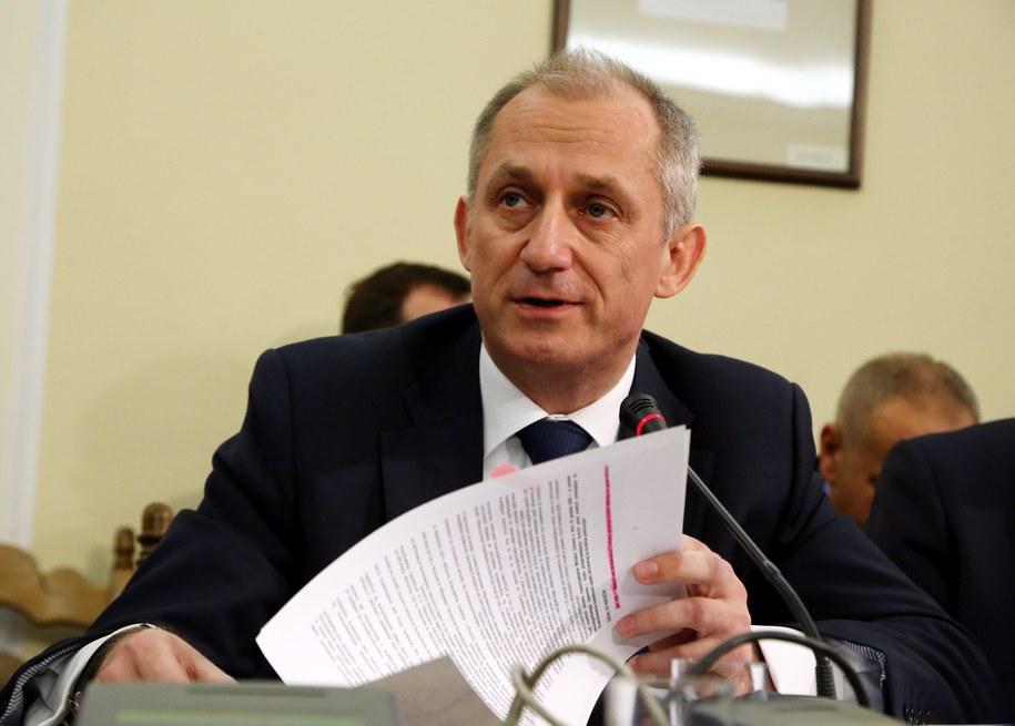 Wiceminister zdrowia Sławomir Neumann /Tomasz Gzell /PAP