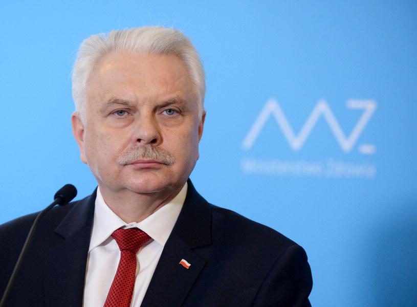 Wiceminister zdrowia Waldemar Kraska /Jan Bielecki /East News