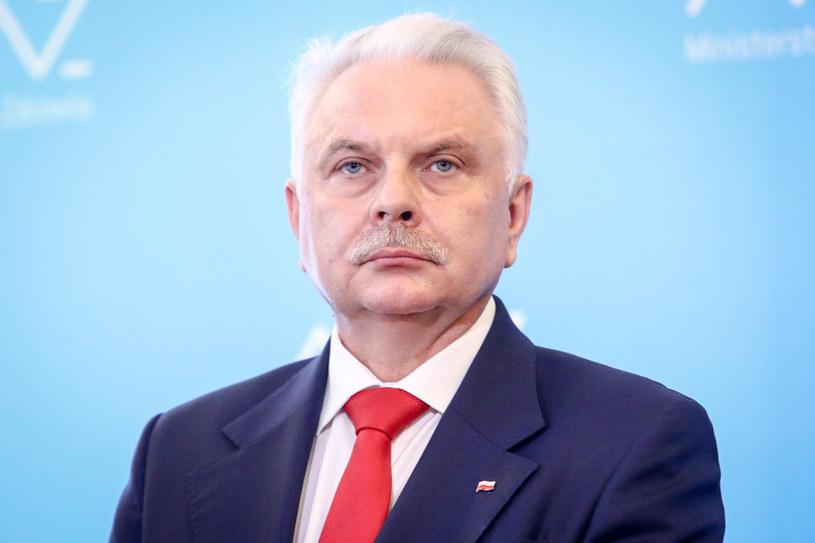 Wiceminister zdrowia Waldemar Kraska /Tomasz Jastrzebowski/REPORTER /Reporter