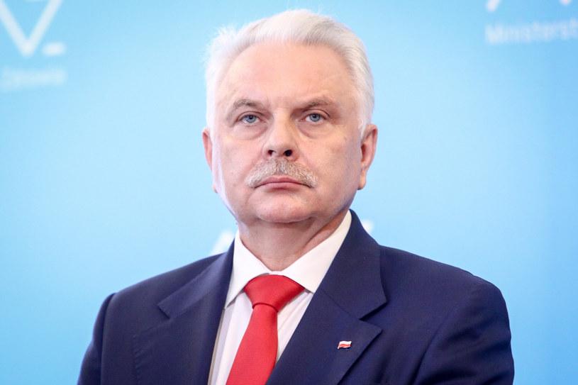 Wiceminister zdrowia Waldemar Kraska /Tomasz Jastrzębowski /Reporter