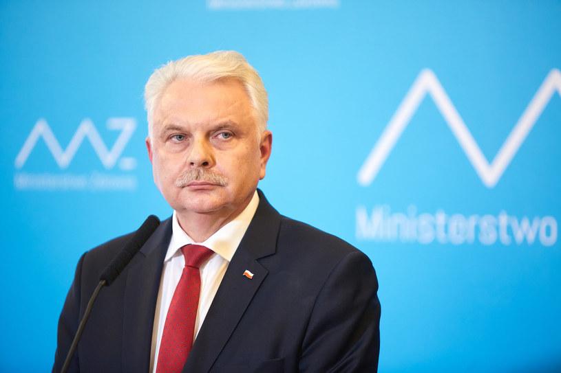 Wiceminister zdrowia Waldemar Kraska /Hubert Mathis /Agencja FORUM