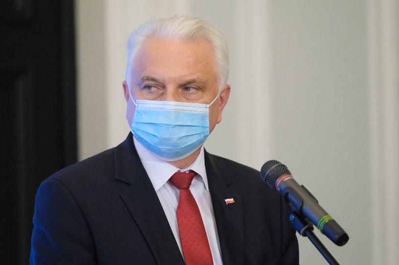 Wiceminister zdrowia Waldemar Kraska /Mateusz Grochocki /East News