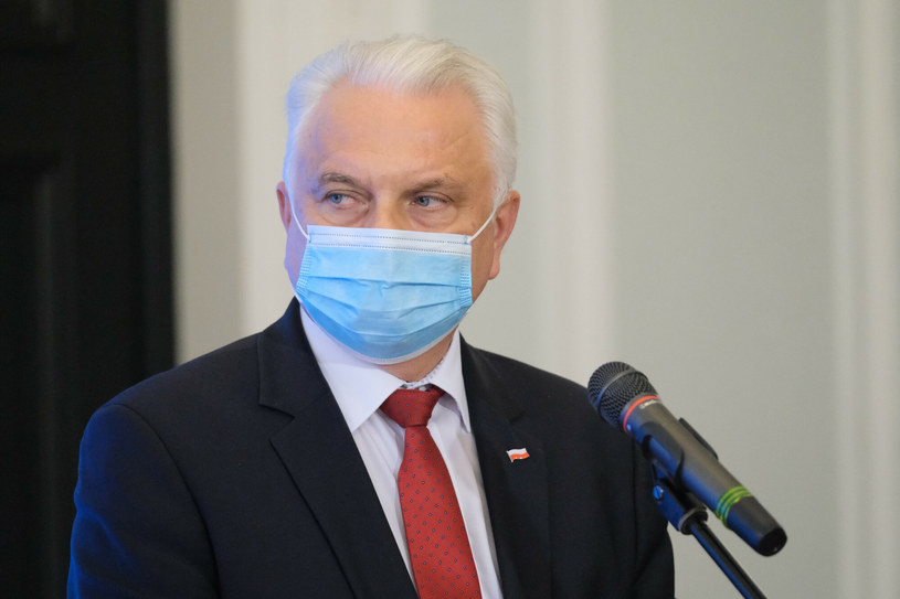 Wiceminister zdrowia Waldemar Kraska /Mateusz Grochocki/East News /East News