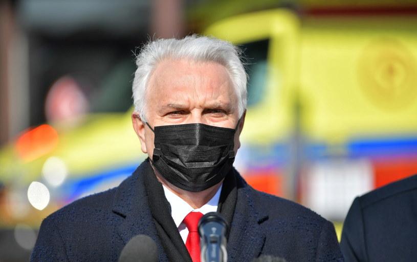 Wiceminister zdrowia Waldemar Kraska /Przemysław Piątkowski /PAP