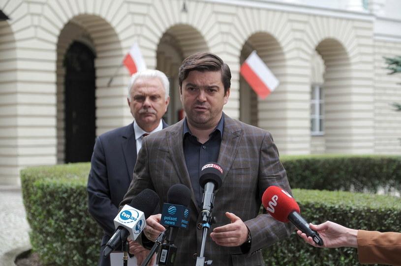 Wiceminister zdrowia Waldemar Kraska /PAP/Mateusz Marek /PAP