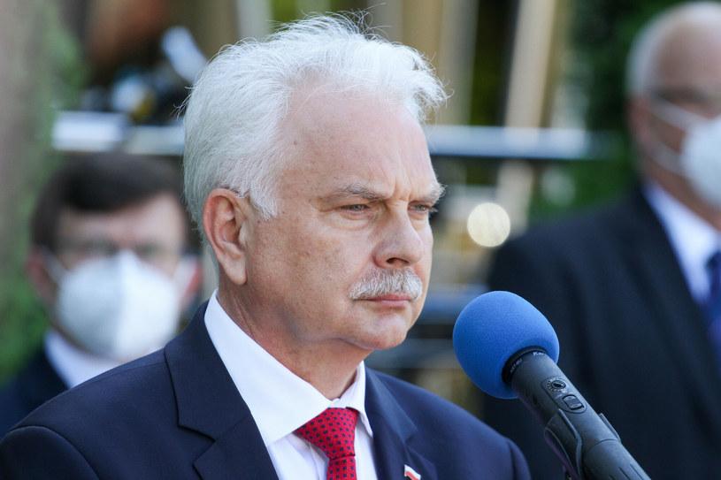 Wiceminister zdrowia Waldemar Kraska /Artur Szczepański /Reporter