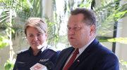 Wiceminister Zieliński odwiedził policjantów z Giżycka