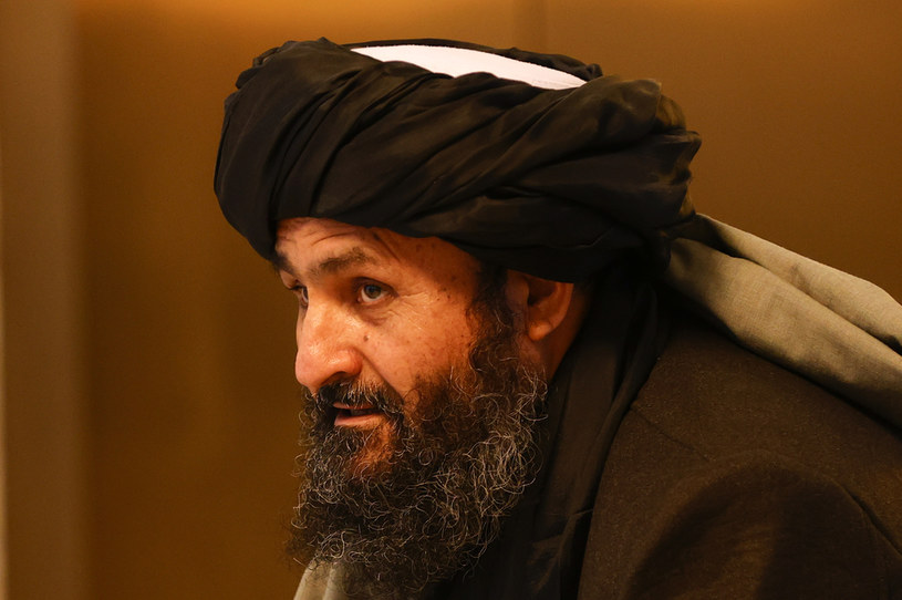 Wicepremier Afganistanu Abdul Ghani Baradar /ANADOLU AGENCY /Getty Images