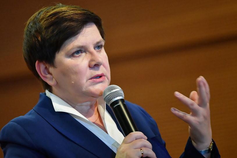 Wicepremier Beata Szydło /Piotr Polak /PAP