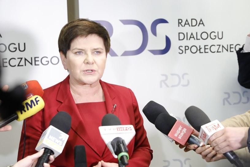Wicepremier Beata Szydło /Grzegorz Banaszak /Reporter