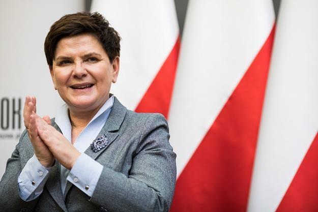 Wicepremier Beata Szydło /PAP